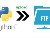 Python, upload FTP