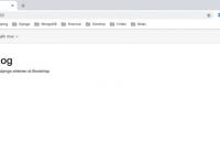 Django tạo menu động với django-sitetree và Bootstrap