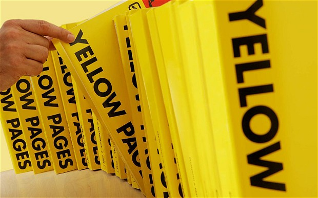 Scraping data from Yellowpages